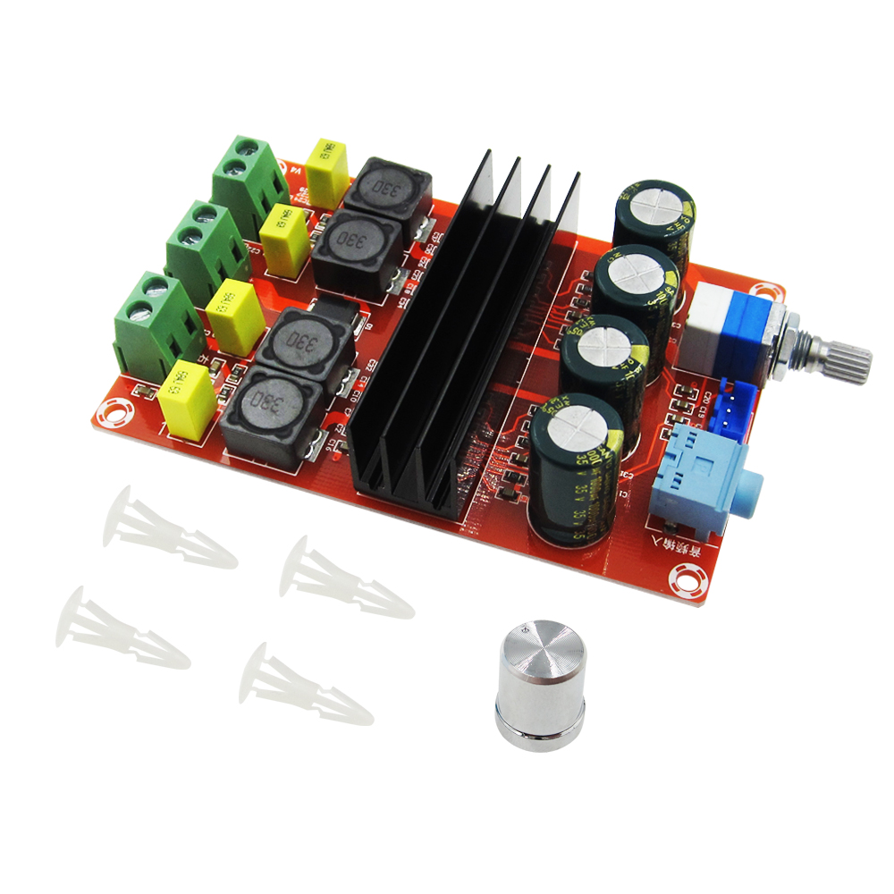 Free shipping XH-M190 Tube Digital Audio Board TDA3116D2 Power Audio Amp 2.0 Class D Stereo HIFI amplifier DC12-24V 2*100W tda7498 2x100w digital power amplifier board audio amplifier class d dual audio stereo dc 14 34v for home theater active speaker