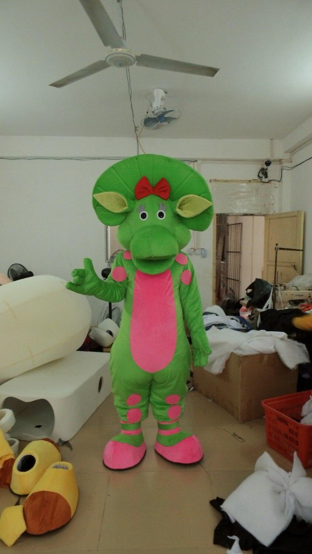 2018 offre spéciale mode nouveauté dragon vert mascotte costume costumes de fête fantaisie mascotte robe costumes tenue