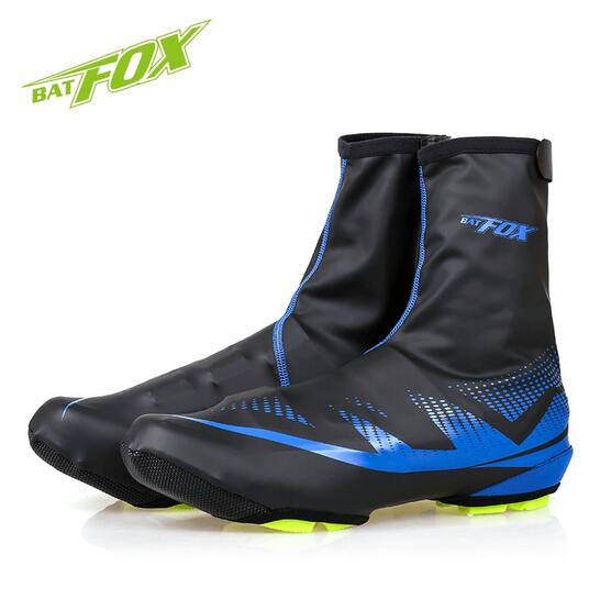 BATFOX Mountain Road Cycling <font><b>Bike</b></font> Shoes Cover Neoprene Warm Overshoes Waterproof Anti-Wear Bicycle Shoes Cover Free Size