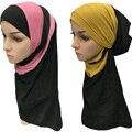 2017 abalorios de moda musulmán hijab pañuelo islámico musulmán sombrero de la mujer, B3669