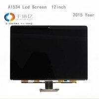 Gebruikt met 100% werken lcd-scherm voor Macbook pro A1534 lcd-scherm 12 ''vervanging 2015 Jaar