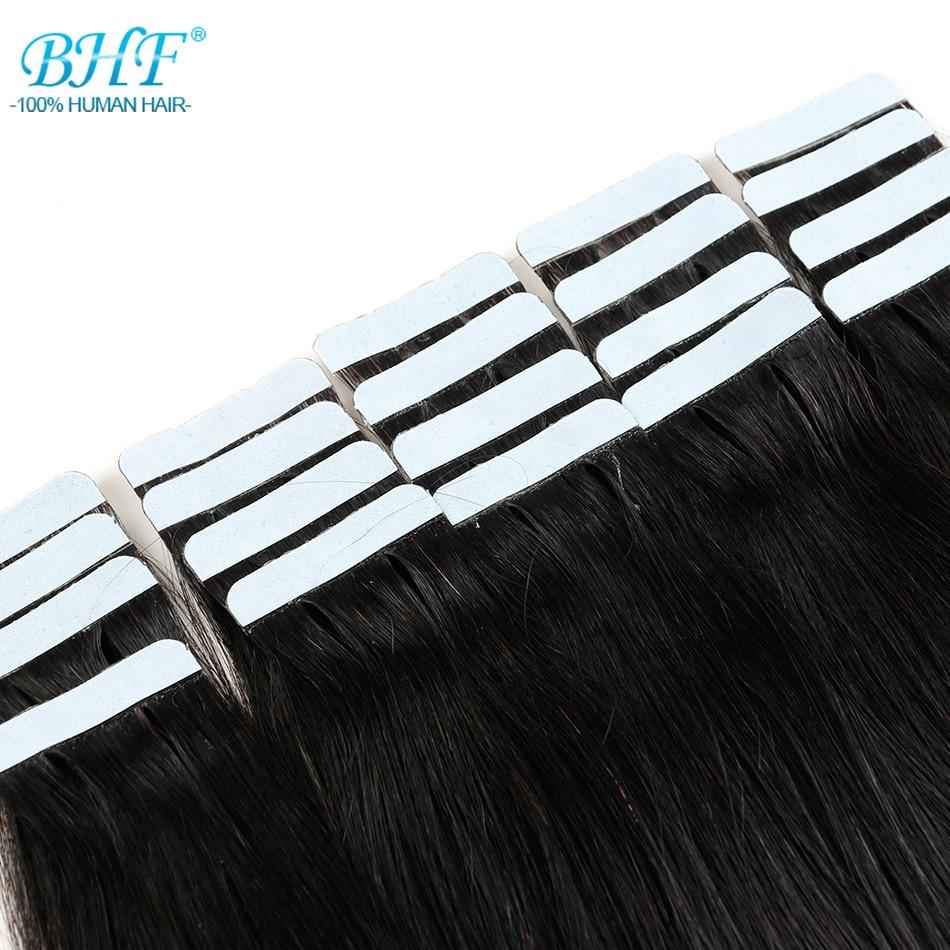 BHF-lint inimese juuste pikendustes Topelt tõmmatud lint - Inimeste juuksed (valge) - Foto 5