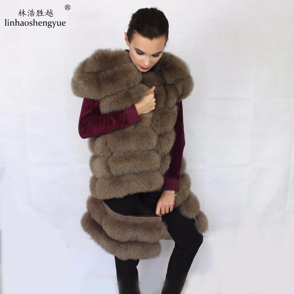 Linhaoshengyue 90 սմ մեծ ուսի երկարությունը - Կանացի հագուստ - Լուսանկար 5