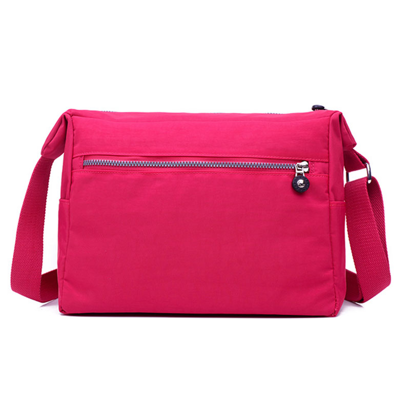 SOYT New Woman Nylon Bag Waterproof Nylon Messenger Bag For Women Handbags  Sling Shoulder Bags With Pockets Bolsa Feminina WH496-in Shoulder Bags from  ... 8bd02f4267348
