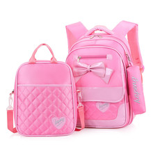 New Kids Bow Schoolbag Backpack High Quality Children Backpack Fashion Girls School Bags Waterproof Orthopedic Knapsack