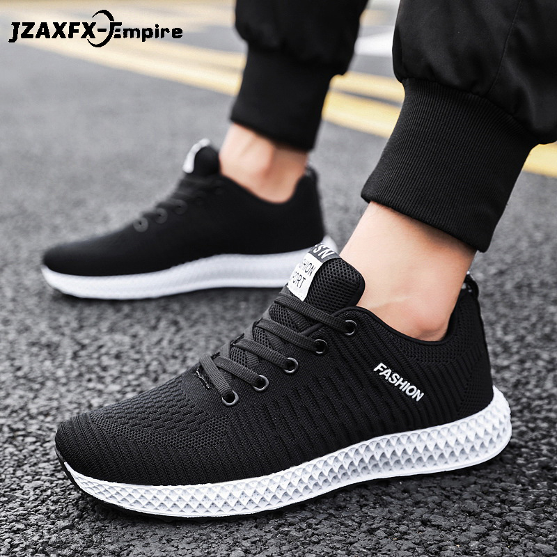 2019 Men Casual Shoes Lightweight Breathable Flats Footwear Loafers Sneakers