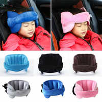 Niños bebé niño asiento de coche de seguridad dormir siesta ayuda almohada niño niños cabeza soporte Protector cinturón 6 colores asiento de coche almohada