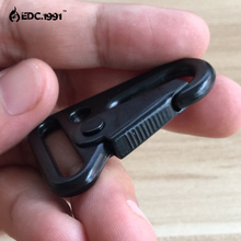 200pcs Backpack Clasp Olecranon Hook Camping Survival Gear EDC Tactical Carabiner Military Keychain Paracord Jewelry Accessories