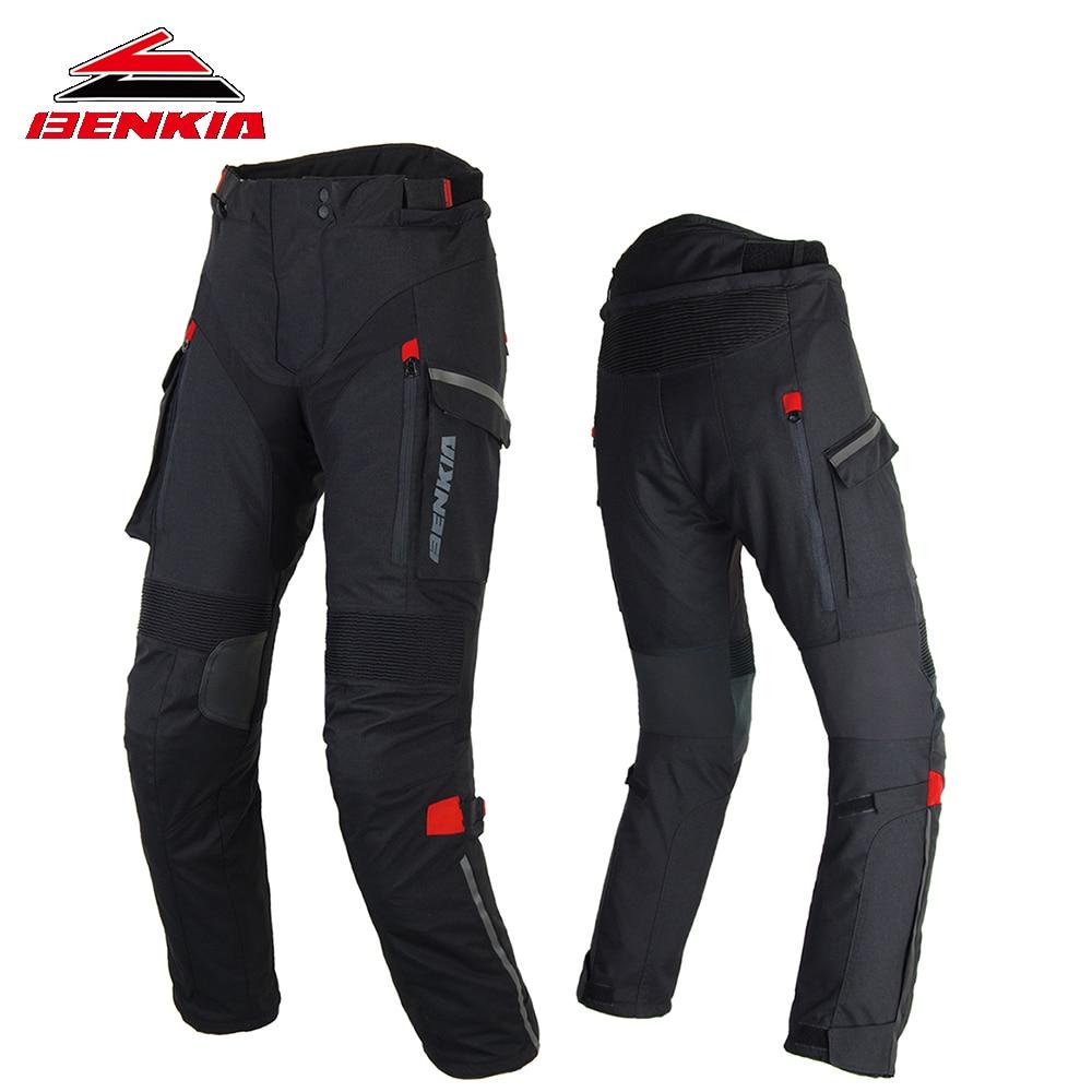 Benkia мотоцикл брюки Для женщин гоночные брюки зима для верховой езды ралли дышащий беговые штаны женские Мотокросс мото брюки PW W47