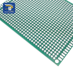 7x9 7*9 см двухсторонний Прототип PCB Луженая универсальная плата экспериментальная пластина схема отверстие хлеб доска 2,54 мм сетка стекловолокно