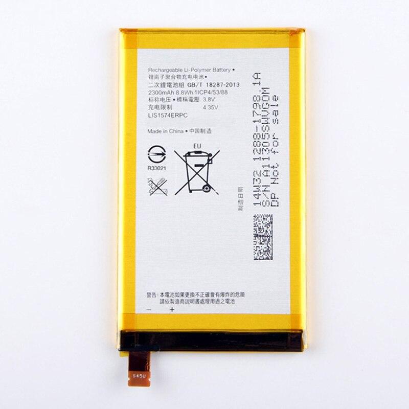 Haute Capacité Téléphone Batterie Pour Sony Xperia E4 E2033 E2105 E2003 LIS1574ERPC 2300 mAh