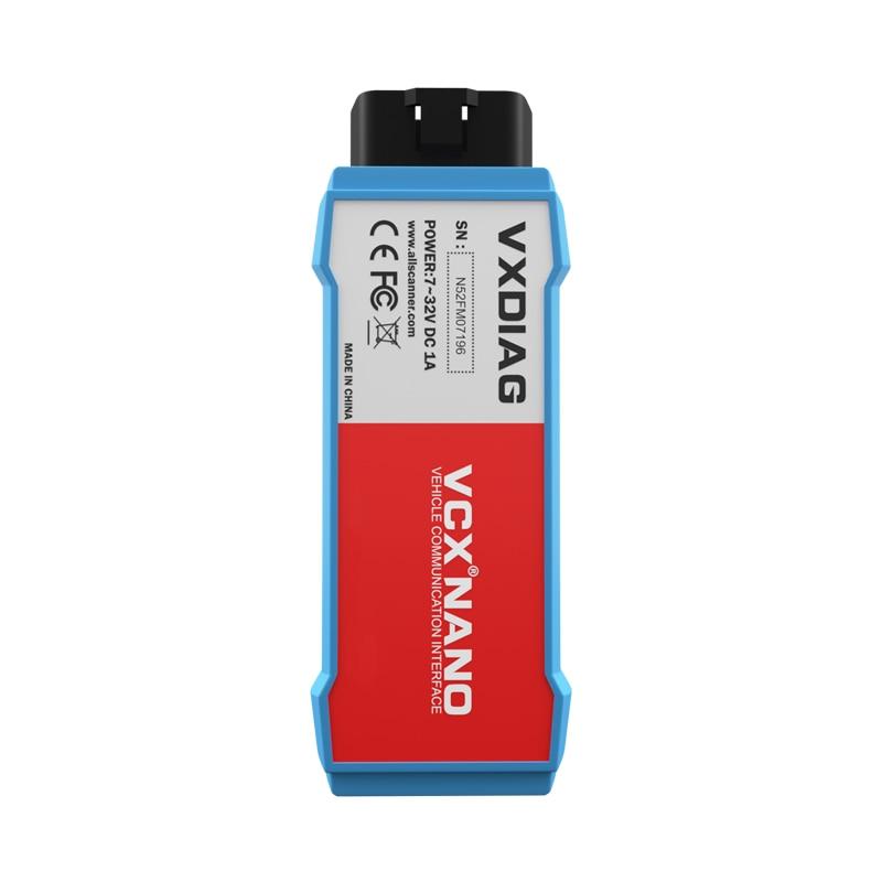 VXDIAG VCX NANO для Ford для Mazda OBD2 автомобильный диагностический инструмент 2 в 1 IDS V116 WiFi automotivo obd2 сканер PCM, программирование ABS