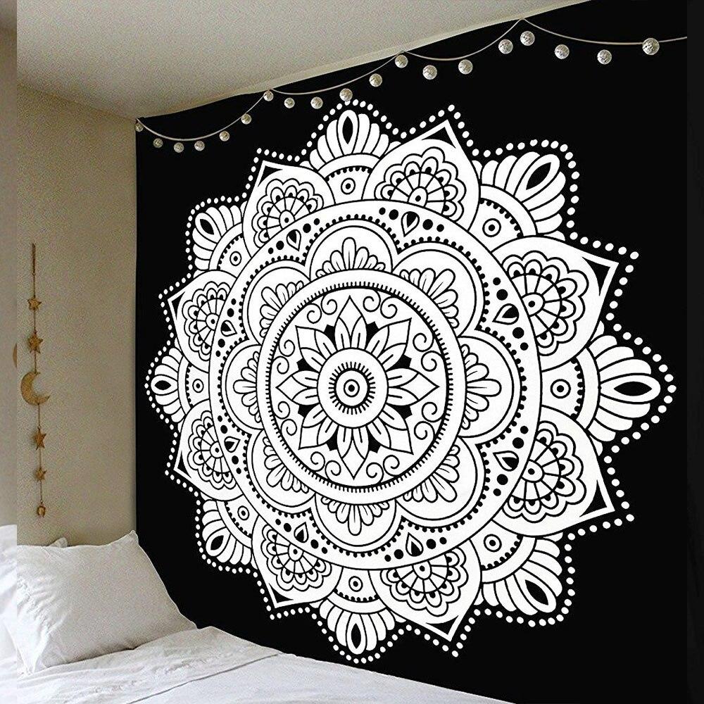 Полиэстер гобелены открытый ковры скатерть, диван бросает спинка кровати в современном стиле крышка спальный настенный солнцезащитный крем муслин пляжные коврики - Цвет: 4