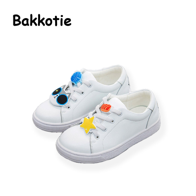 Bakkotie 2017 New Autumn Baby Boy White Shoes Cat Kid Girl Brand Leisure Sneaker Gneuine Leather Breathable Child Soft Trainer bakkotie 2017 new autumn baby boy white shoes cat kid girl brand leisure sneaker gneuine leather breathable child soft trainer