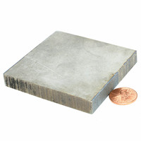 Titanium Plate Titanium Sheet 70x70x10mm TC4 Ti Sheets Titanium Block Grade 5 Gr.5 gr.5 Ti Plates Industry or DIY 1 pcs
