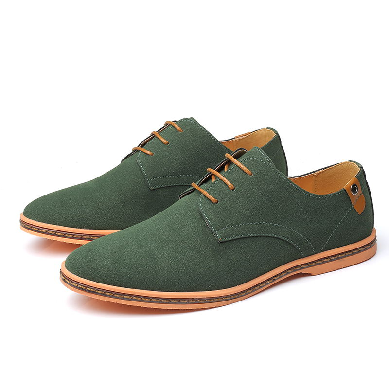 HTB14WwGX.GF3KVjSZFmq6zqPXXaR VESONAL Brand 2019 Spring Suede Leather Men Shoes Oxford Casual Classic Sneakers For Male Comfortable Footwear Big Size 38-46