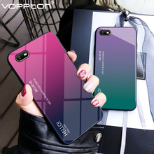 Gradient Tempered Glass Case For OPPO A1
