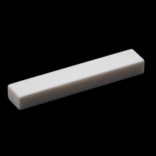 Replacement Acoustic Guitar Bone Nut White Material Uncut Unslotted DIY For LP Tele 52x6mm