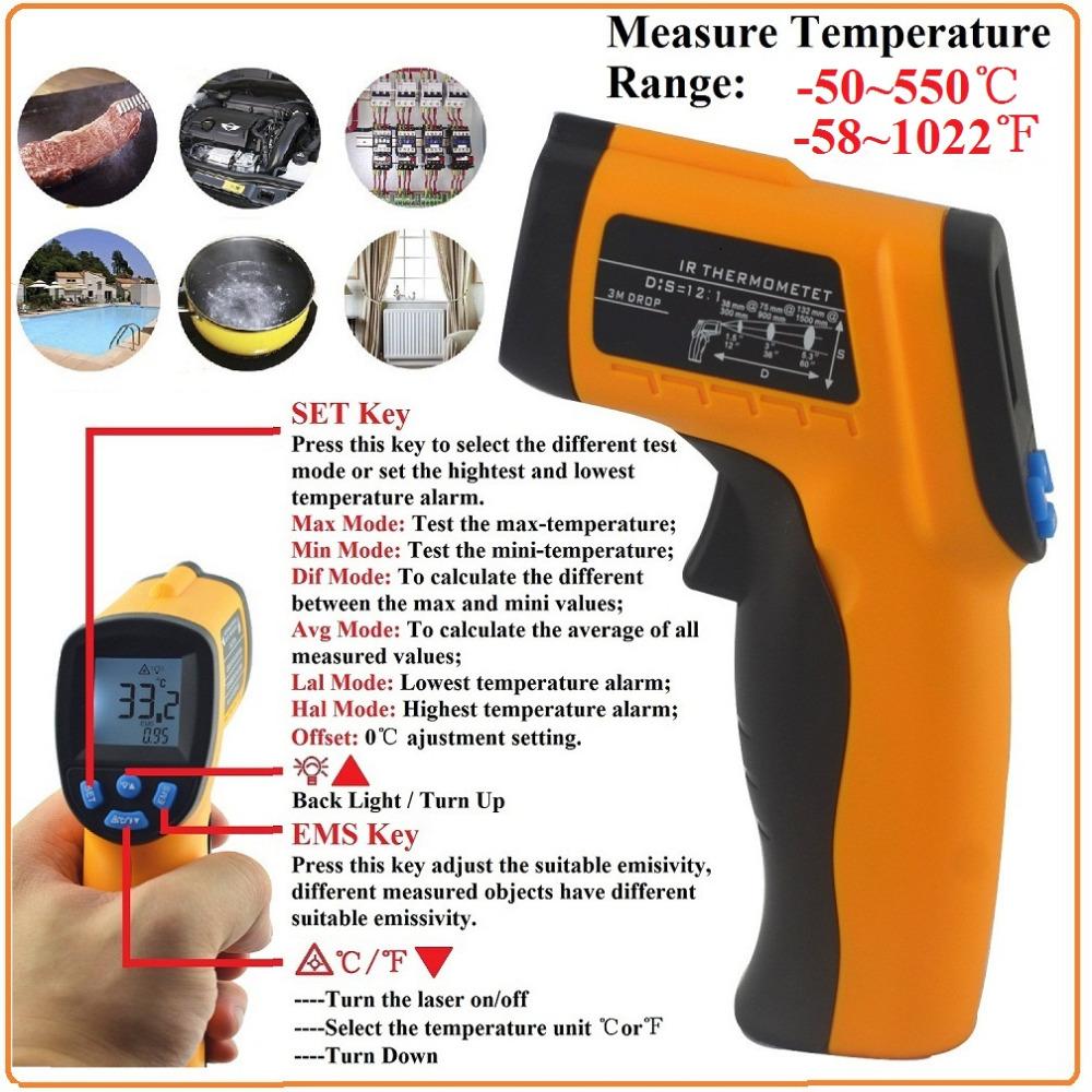 58 1022 f 50 550c numérique thermomètre