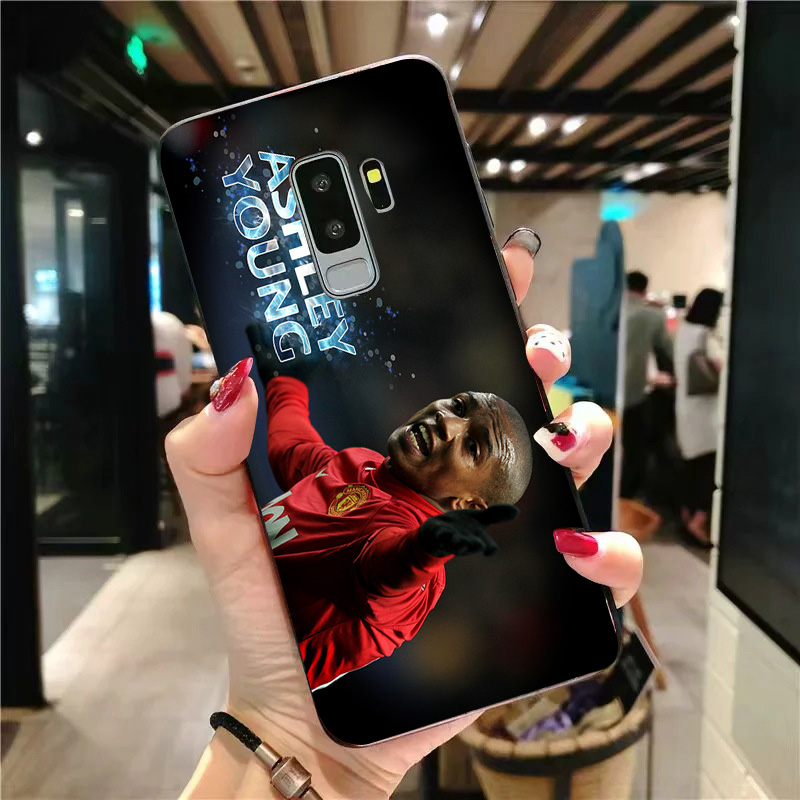 Yinuoda Phone Case For Ashley Young Samsung Galaxy Shell S10 S9 8 Plus S6 S7 Edge Silicon Cover Black Soft TPU For S9 S10 Lite in Half wrapped Cases from Cellphones Telecommunications