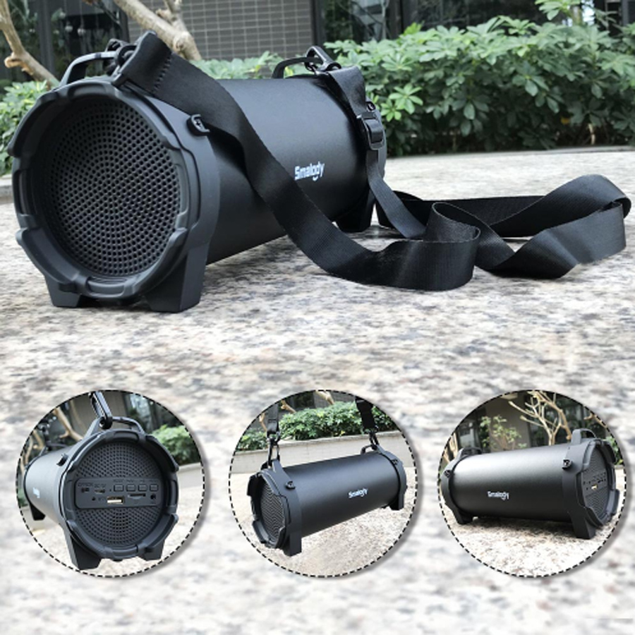 Smalody Mini Speaker Strap Bicycle High-Power Outdoor-Sports SL10 Bluetooth Portable