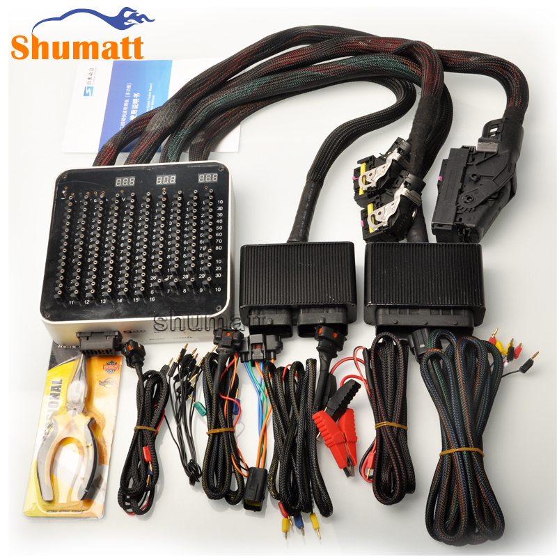 Car Engine Computer Board ECU Wire Harness Quick Tester Leads Diagnosis Analysis Garage Tool for B car engine computer board ecu wire harness quick tester leads how to test car wire harness at panicattacktreatment.co