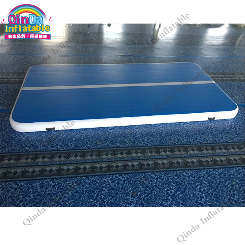 Floating Inflatable Air Tumble Track DWF PVC Inflatable Gym Mat, Inflatable Gymnastics Mats Air Track