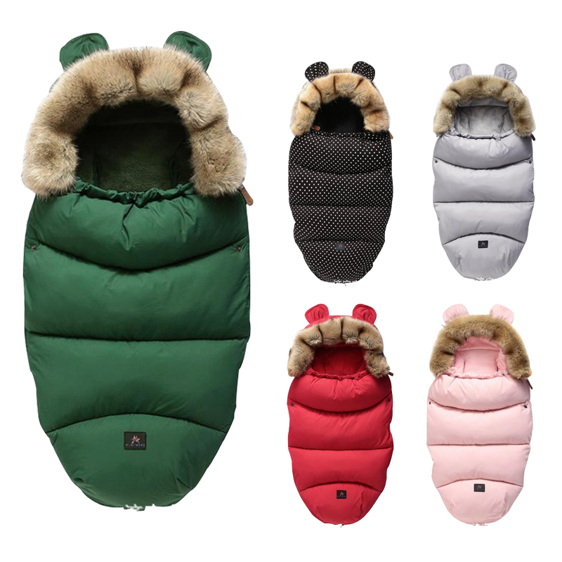 Baby Sleeping Bag Cotton Winter Sleep Sack Newborn Envelop 0 36 Months