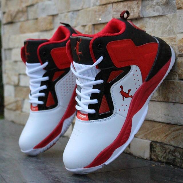 5368f164e2f Hommes Chaussures de Basket-Ball En Plein Air High Top Marque Cheville  Boost Hommes Et