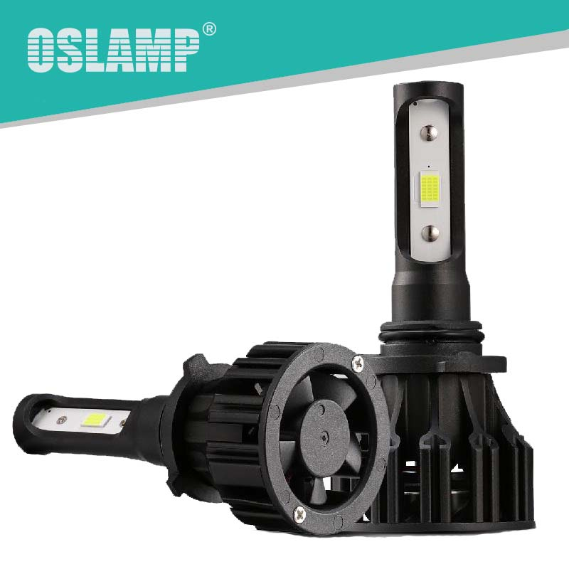 Oslamp H4 Led Car Headlight 72W 8000LM 6500K Led H7 H1 Car Bulbs T5 COB 9007 9005 HB3 9006 HB4 H3 Headlamp Auto Led H11 Fog Lamp