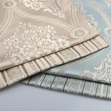 1メートル高品質ジャカード生地用ソファ布カーテンクッション椅子テーブルシート花花張り材料織物博物館
