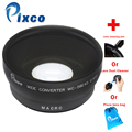 Pixco 58mm 58 mm 0.45x Wide-Angle Lens With Macro lens + with cleaning Pen/ with dust cleaner /with lens bag