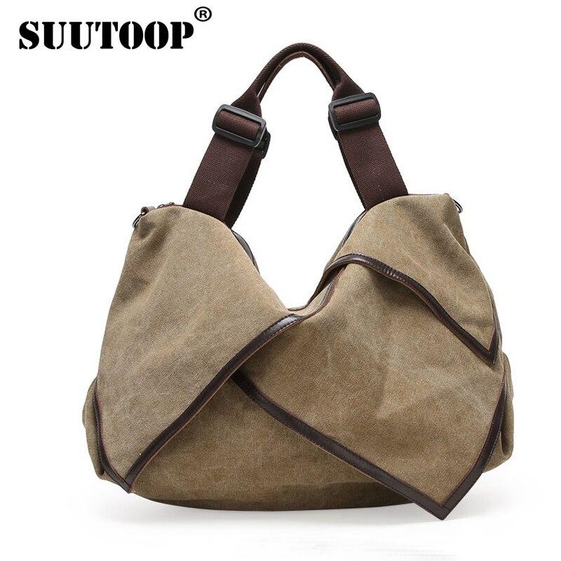 Дизайнерские сумки известного бренда женщин сумки 2016 Холст Сумка crossbody Сумки На Ремне Девушки Большой посланник сумки Мешок Основной