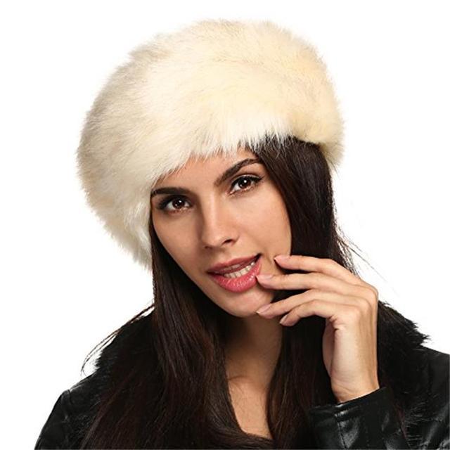 Bandanas Winter Fur Warm Headband Fox Fur Hat Faux Fur Head Warmer Women s  Ear Warmer Earmuff Turban Hair Band Hair Accessories-in Women s Hair  Accessories ... c338e8a749f3