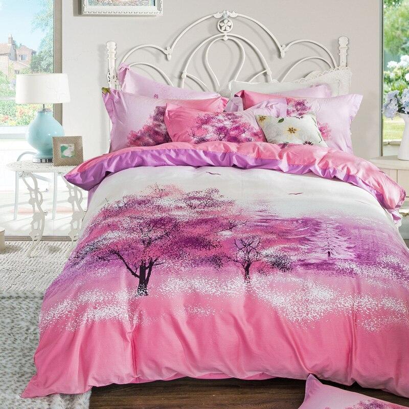 Pink And Purple Bedroom: Popular Sakura Comforter Set-Buy Cheap Sakura Comforter
