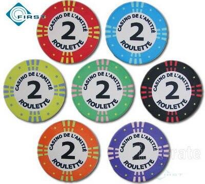 Roulette Chips Verteilung