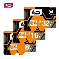 LD Memory Card Micro Sd Cards Tf Card 32GB 16GB 8GB Class 10 UHS 1 Mini