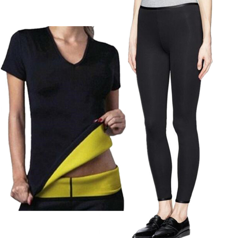 Operating Sportswear Tracksuit Health Gymnasium Clothes Girls's Yoga Set Sport Tshirts+Slimming Pants Yoga Shirt Sports activities Pants 2 Items