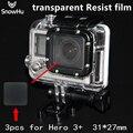 Go pro Аксессуары Водонепроницаемый корпус объектива protector фильмы высокое светопропускание импортных материалов Для Gopro Hero 3 + GP173
