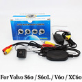 Rear View Camera For Volvo S60 S60L V60  / RCA Wired Or Wireless / HD Wide Lens Angle / CCD Night Vision / Vehicle Backup Camera