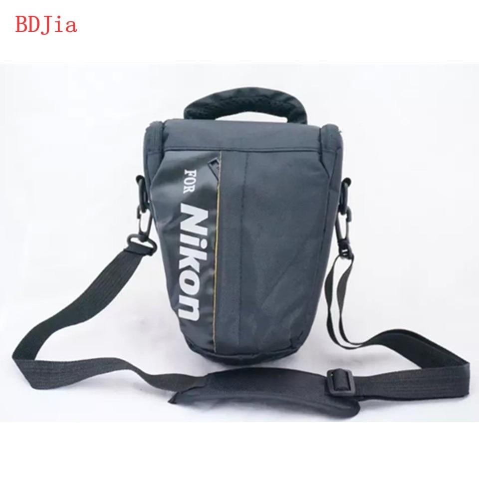 New Camera Cover Case Bag for Nikon D7200 D7100 D5600 D5500 D5300 D5200 D3500 D3400 D3300 D3200 D3100 D90 DSRL Camera With Strap dslr camera bag case for nikon d5600 d5500 d5300 d5200 d5100 d5000 d3400 d3300 d3200 d3100 d3000 d90 d7200 d750 d7500 d7100 d850