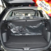 Security Cargo Cover Trunk Car Rear Trunk For Mazda CX7 CX 7 Car Styling Accessories High Quali Auto Trunk Storage/bracket