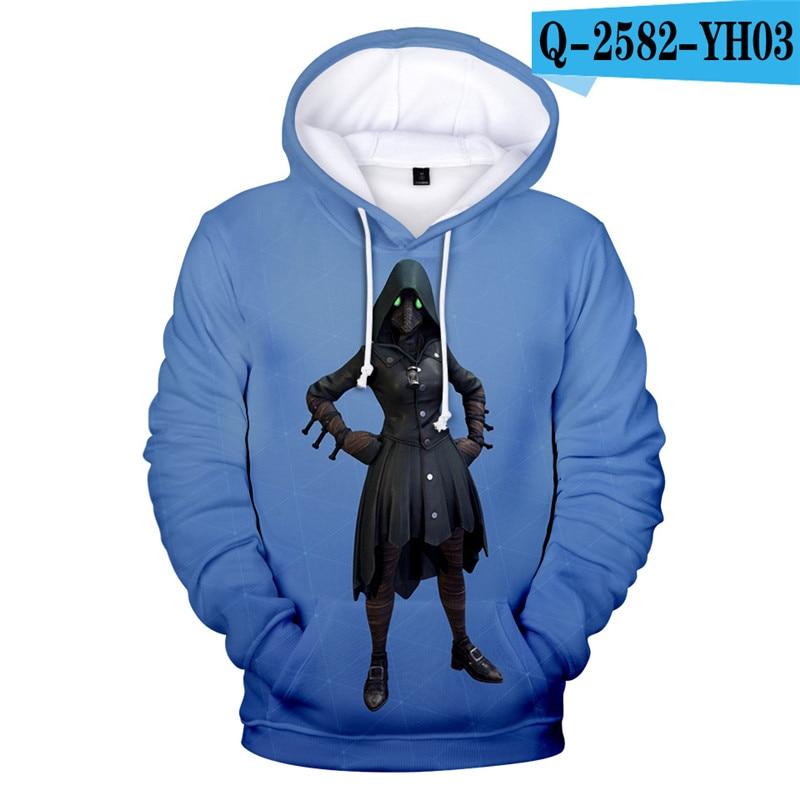 Fortniter Battle Royale Hoodie Fornit Children Clothing Fortnight Fortnited Game Clothings 3D Print Children Clothing Fortnight