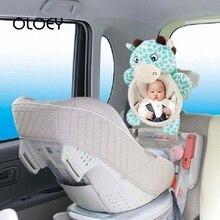 OLOEY, Автомобильное Зеркало для сиденья, Детские Задние Зеркала, детское регулируемое безопасное сиденье, зеркало заднего вида, детское подголовник, крепление, автомобильные аксессуары