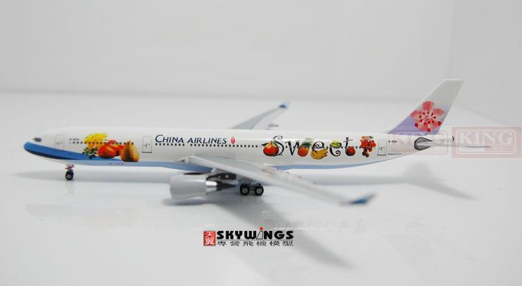 Aeroclassics Taiwan China Aviation B-18311 A330-300 sweet fruit commercial jetliners plane model hobby gjcca1366 b777 300er china international aviation b 2086 1 400 geminijets commercial jetliners plane model hobby