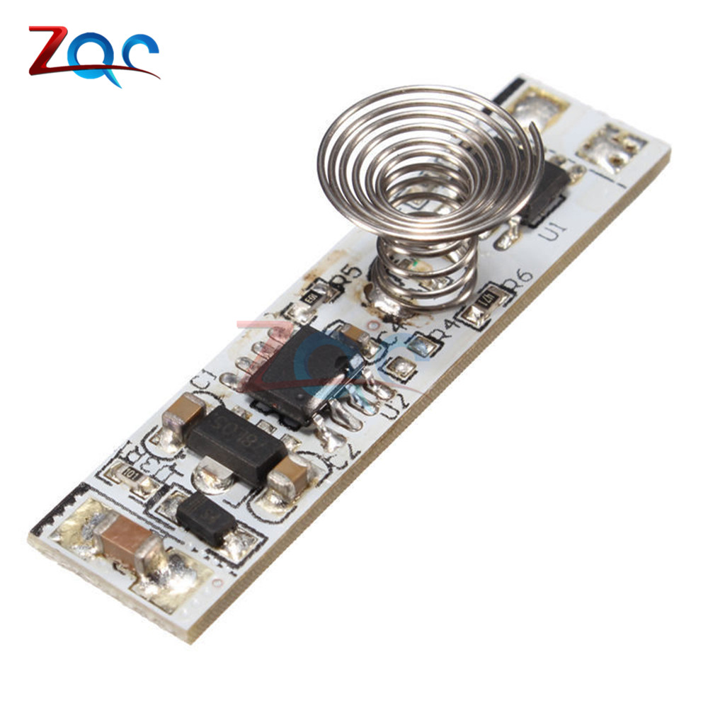 9V-24V 30W 3A Touch Switch Capacitive Sensor Module LED Dimming Control Lamps Active Components Three Mode Hard Light Controller