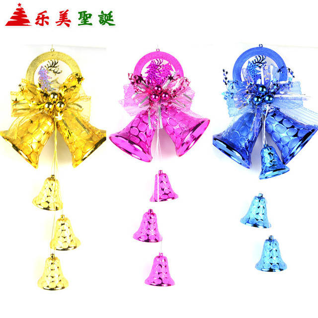 christmas decorations christmas tree ornaments red and gold longzhong large bell ornaments christmas wreath hanging door - Large Plastic Christmas Bell Decorations