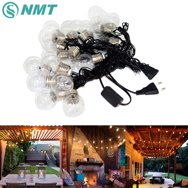 20 led 6m clear globe party fairy string lights christmas lights holiday garland decoration lights string