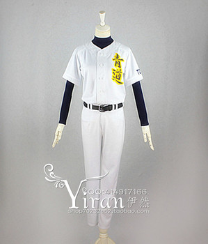 Ace of diament Daiya nie A Eijun Sawamura Satoru Furuya Haruichi Kominat baseball jersey strój baseballowy Anime Cosplay kostium