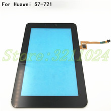 New For Huawei Mediapad 7 Youth2 Youth 2 S7 721U S7 721 Touch Screen Digitizer Glass Sensor Panel Tablet Replacement